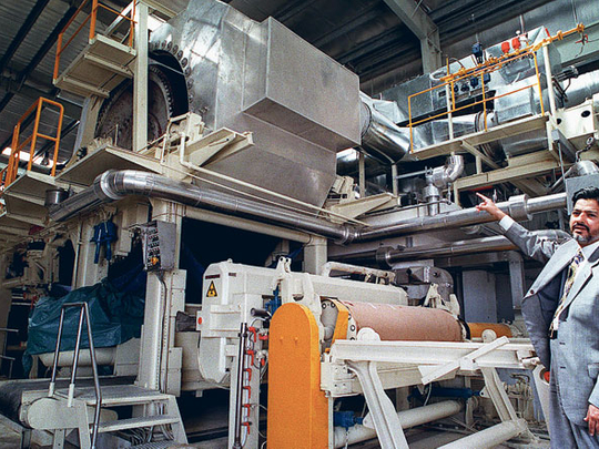 UAE paper industry pressured by China, India rivals
