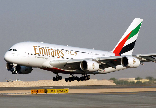 Emirates offers up to 45 kilos free baggage allowance on 30