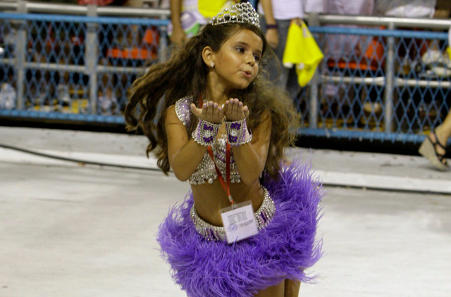 Is 7-year-old Carnival queen a step too far even for Rio