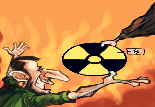 North Korea and Iran are nuclear allies