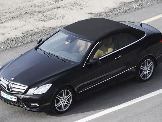 Mercedes-Benz E500 Cabriolet: A great cruiser