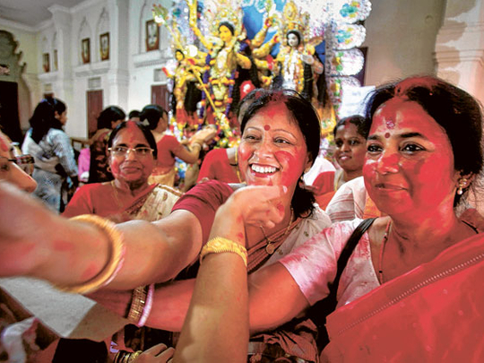 A festival, its rituals and joys