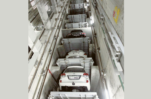 Robotic valet parking at Sharjah building | Uae – Gulf News