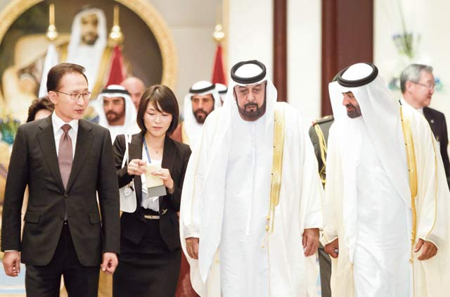 S  Korea secures Abu Dhabi oil deal