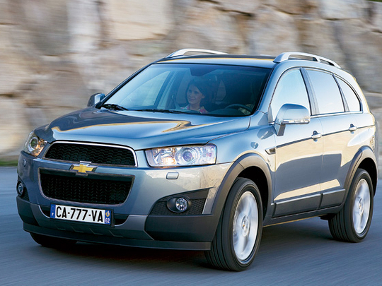 Chevy Captiva Is A Good Blend Of Looks And Features Lifestyle