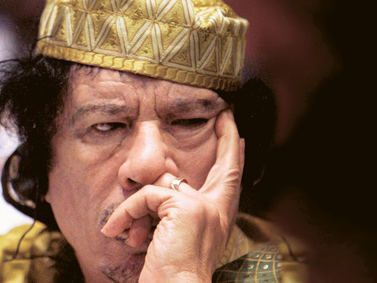 Banker Gaddafi Offered 25 Tonnes Of Gold For His Protection Mena Gulf News