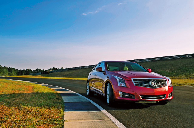 Cadillac Evening News >> Cadillac Ats On New Turf Lifestyle Gulf News