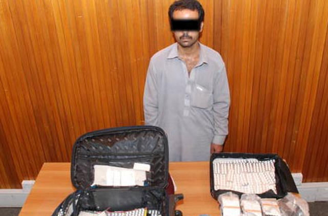 Suspected drug trafficker arrested at Muscat International