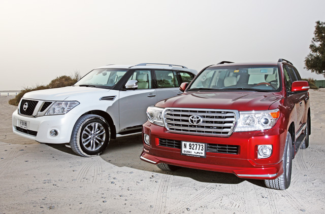 Nissan Patrol takes on the Toyota Land Cruiser   Lifestyle