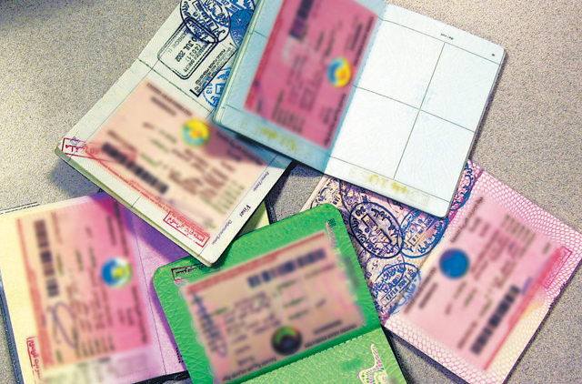 Sharjah Free Zone holds passports of people on its sponsorship