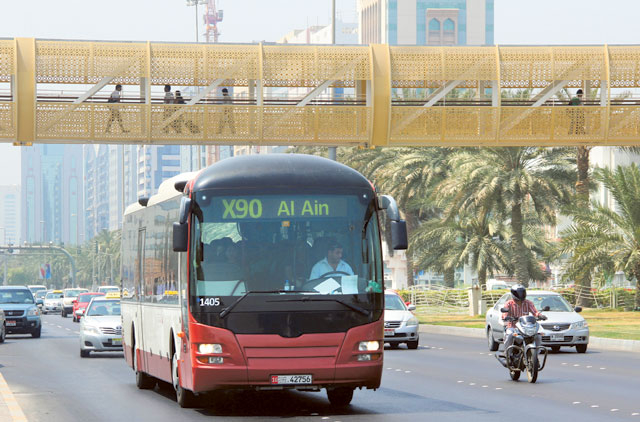 New Express Bus Service Between Abu Dhabi And Al Ain Transport Gulf News