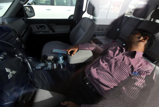 Sleeping in the cool comfort of your car can kill you