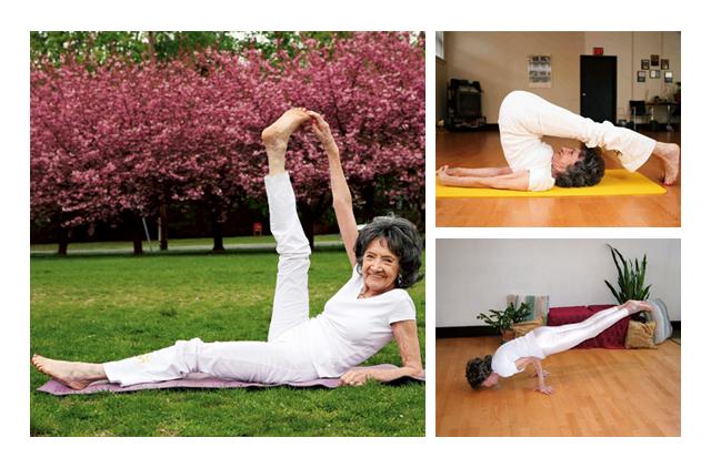Meet The World S Oldest Yoga Teacher Lifestyle Gulf News