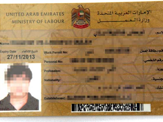 How to get a new labour card | Housing - Gulf News