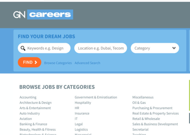 Gulf News launches new sites for jobs, property and