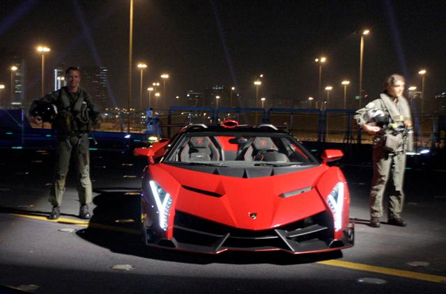 Lamborghini Unveils Dh16 5m Veneno Roadster In Abu Dhabi