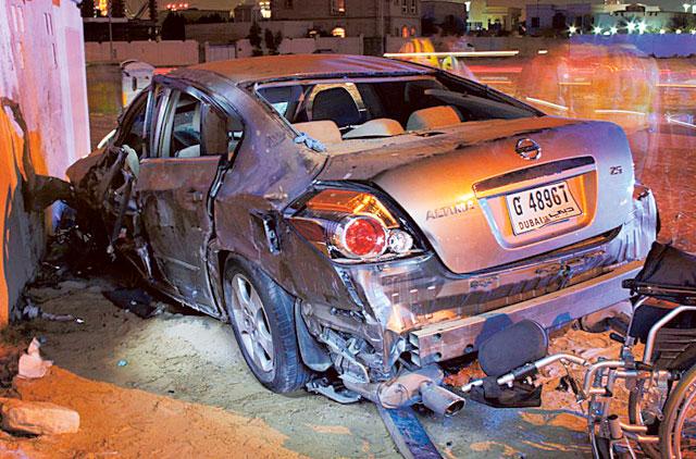 Teenage boy dies in car crash | Transport – Gulf News