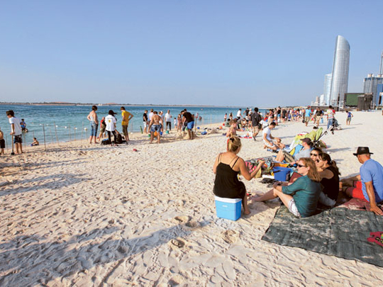 Abu Dhabi Beaches To Reopen Today Uae