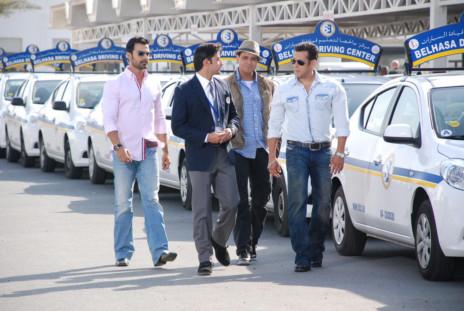 Salman Khan Shoots Dubai Film At Driving Centre Gulfnews
