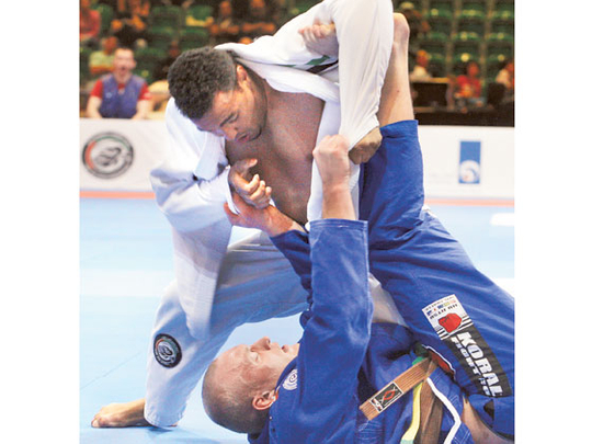 Brizilian jiu jitsu anal