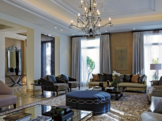 A Sense Of Grandeur In Kuwaiti Villa Home Gulf News