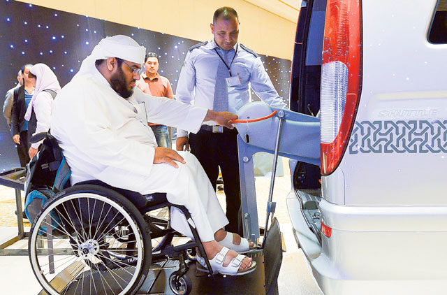 First fleet of taxis for passengers with special needs launched in