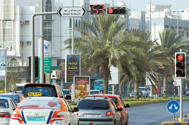 Ajman: Countdown traffic timer cuts accidents at