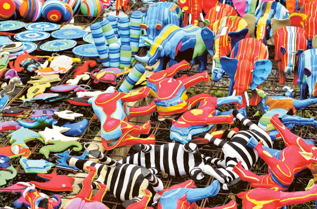 6c865cdd5 1.1284207-3877766495. Toys made from discarded flip-flops ...