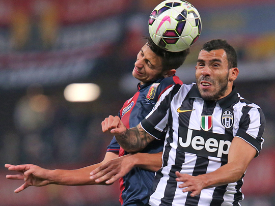 Serie A: Last-gasp Luca Antonini hands Juventus a first ...