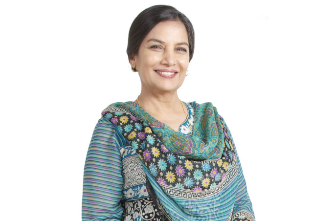 Shabana Azmi rings in her birthday in Dubai