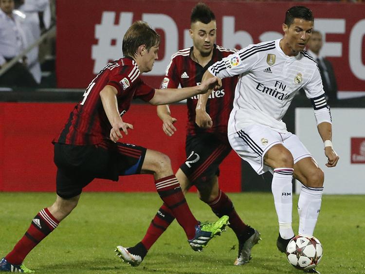 Футбол реал мадрид vs милан