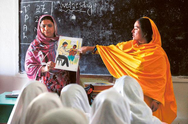 Pakistani Village Gives Girls Pioneering Sex Education Class