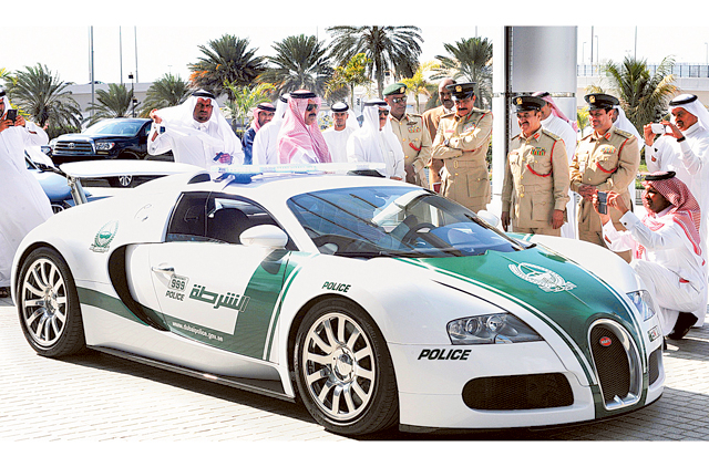 Dubai Police Break Guinness World Record Of Having Fastest Police Car
