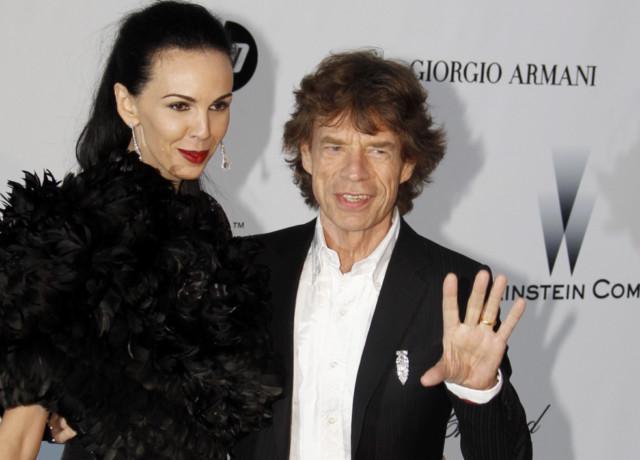 Wife mick jaggers Mick Jagger