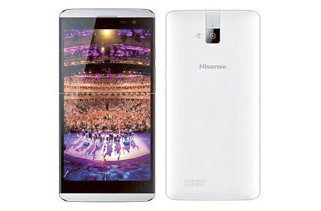 A budget-friendly smartphone with dual SIM from Hisense