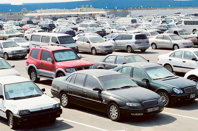 Impounded Dubai Cars Sold For Scrap