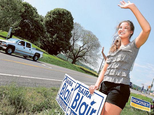 17-Year-Old Student Tops Sitting W.Va. Lawmaker   Talking