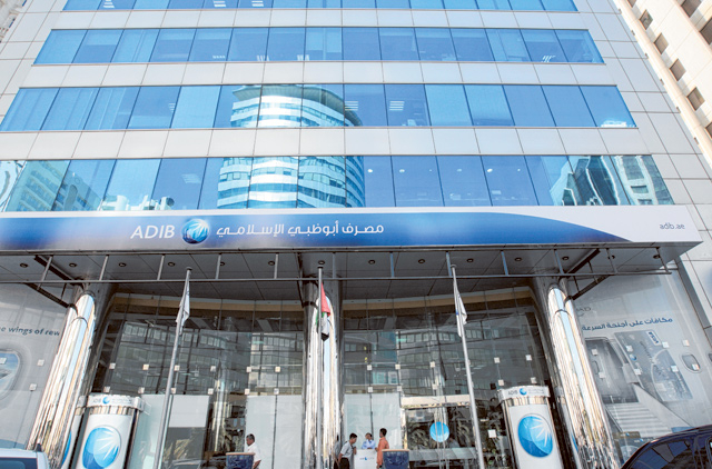 ADIB shares on Abu Dhabi index play catch-up with banking