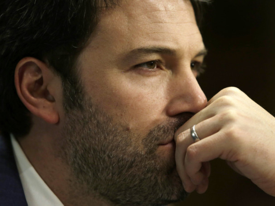 Affleck barred from casino game after cheating
