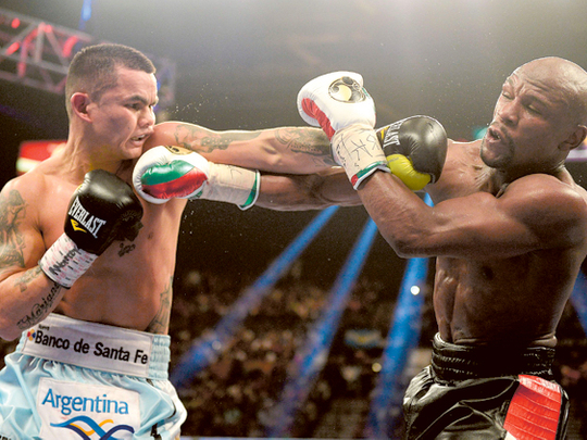Marcos Maidana feels robbed after loss to Floyd Mayweather | Sport ...