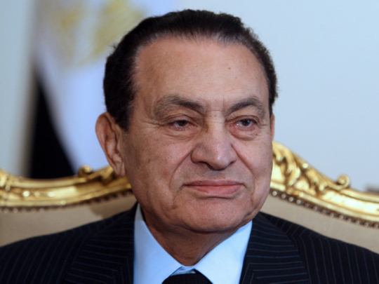 UAE announces day of mourning following Mubarak's death