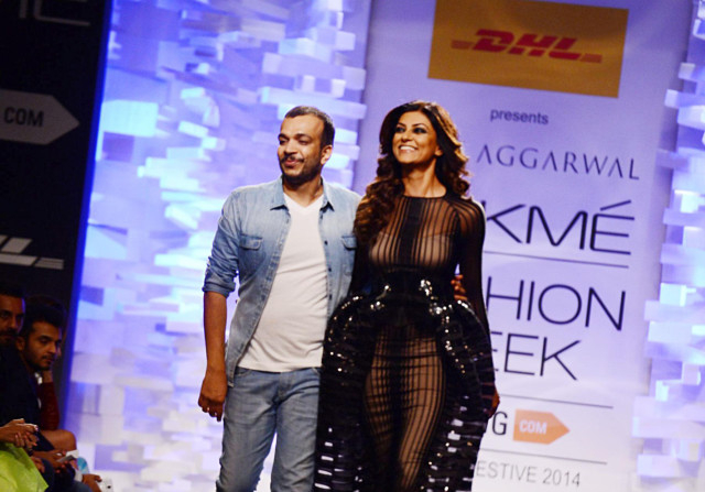 Sushmita Sen Turns Showstopper For Amit Aggarwal Bollywood Gulf News