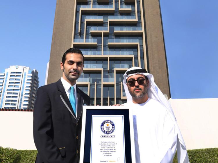 Dubai's Maze Tower wins a Guinness accolade | Property