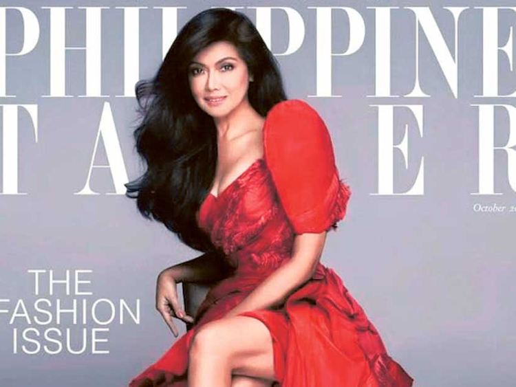 Imee Marcos' alluring photo on magazine cover attracts
