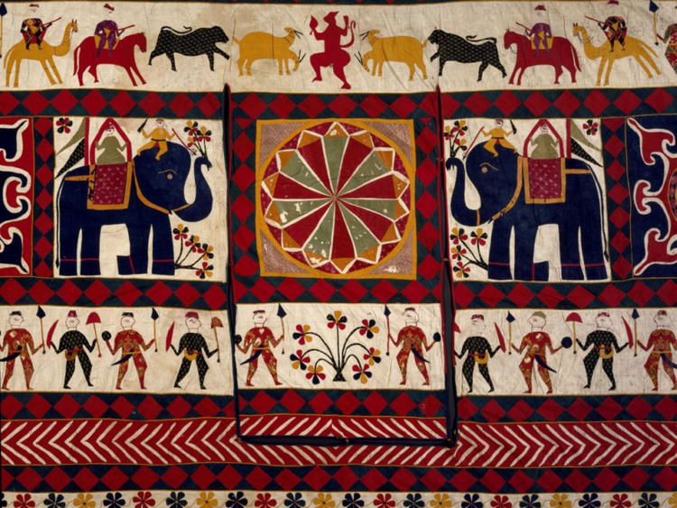 Glorious textiles tell the story of India's past