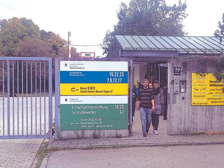 München helene-wessel-bogen 7 Schulzentrum Bayernkaserne