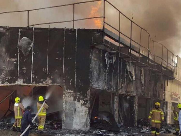 Fire ravages 16 shops at Abu Dhabi souq | Uae – Gulf News