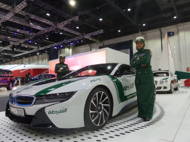 The complete list of Dubai Police's luxury cars | Business