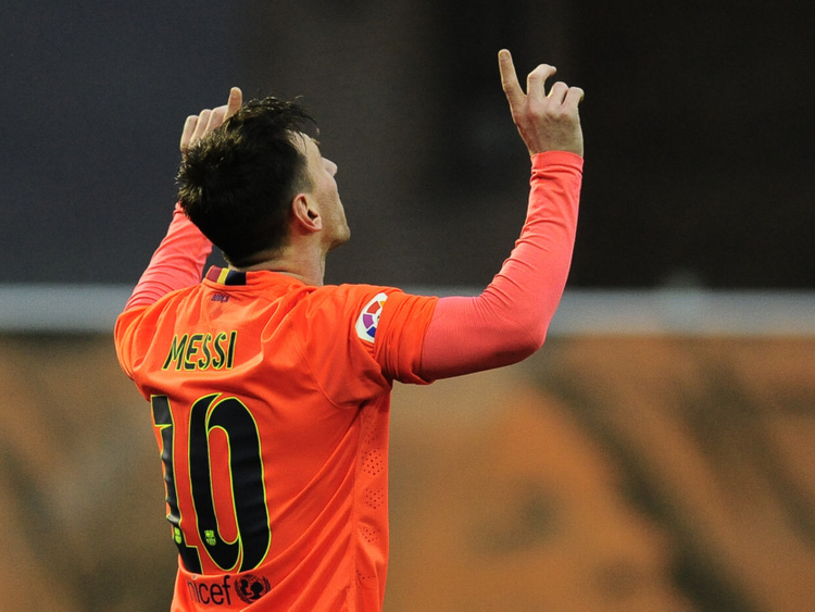 super popular c8870 009e9 La Liga: Lionel Messi overtakes Cristiano Ronaldo as Spain's ...
