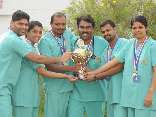 Gmc Hospital Ajman Wins Medical Simulation Olympics Health Gulf News
